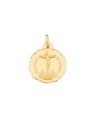 Medalla  Cristo de la laguna / 2,4 grs.