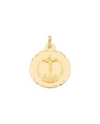 Medalla  Cristo de la laguna / 3 grs.
