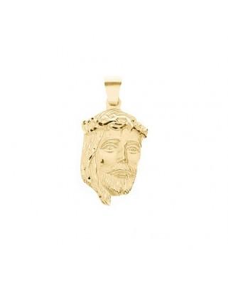 Medalla  Cara cristo de 7,6 grs