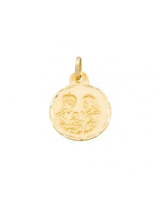 Medalla  familia de 2 grs