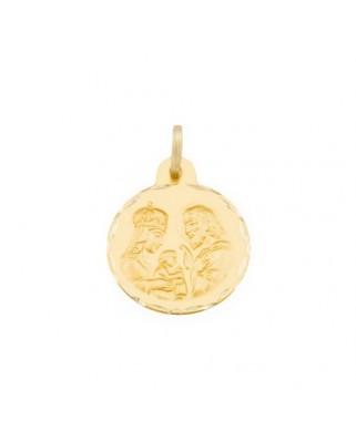 Medalla  familia de 2,8 grs