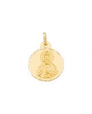Medalla  Virgen macarena de 2,1 grs