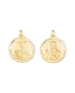 Medalla  Esc.v.angust./cor.jesus-4,4g