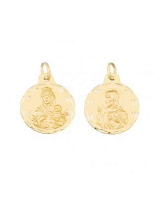 Medalla  Escap.v.carmen/cor.jesus-2 grs