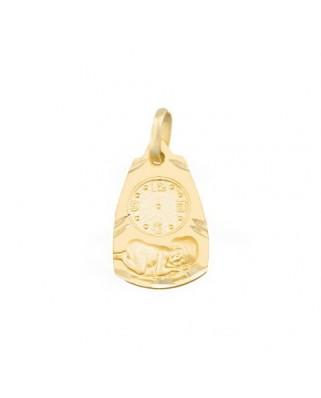 Medalla  Medalla reloj / 1,2 grs
