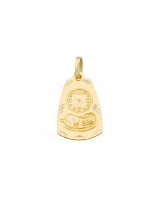 Medalla  Medalla reloj / 1,6 grs
