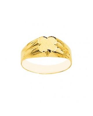 Sello oro amarillo 4 corazones 2ª. postura.