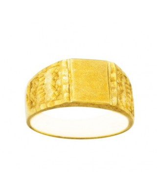 Sello oro amarillo cte.fund.lateral ondas