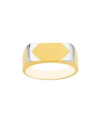 Sello oro bicolor