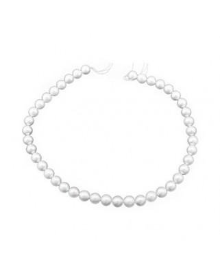 Collar  Hilos perla cultivada 10 mm