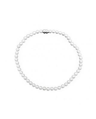 Collar  lar perlas 7-7,5