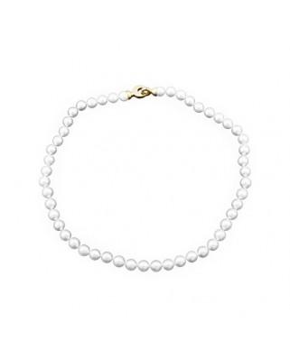 Collar  lar perlas 8-8,5