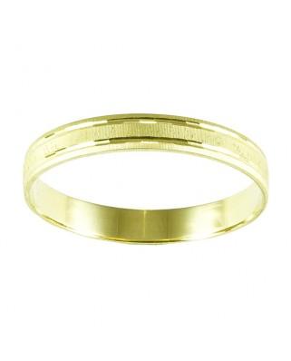 Alianza oro amarillo 3.5 mm 2.4 gr