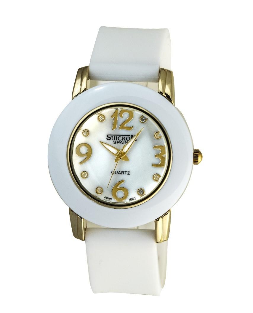 Reloj de mujer correa de caucho
