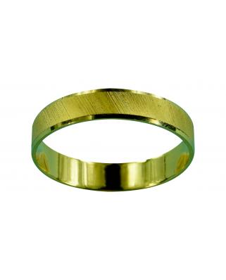 Alianza oro mate filo brillo     2.3g