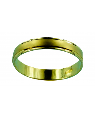 Alianza  oro mate filos brillo      2.6g