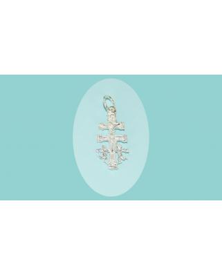 Colgante plata cruz carabaca